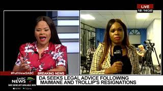DA Federal Executive | DA seeks legal advice following Maimane, Trollip resignations: Solly Malatsi