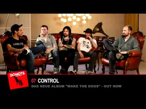 DONOTS - Die Band über das Album WAKE THE DOGS (Track by Track)