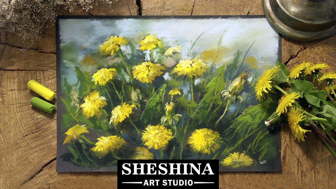 Field Of Flowers Painting