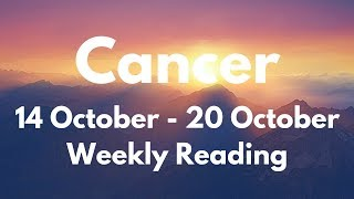 CANCER YOU WILL BE SHOCKED AT WHAT HAPPENS! OCTOBER 14th - 20th