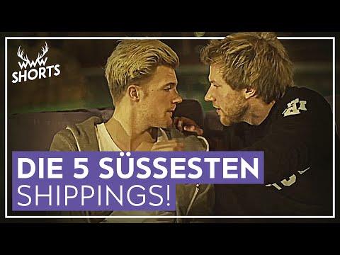 DIE 5 SÜSSESTEN YOUTUBER-SHIPPINGS! | TOP 5