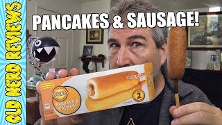BREAKFAST ON A STEEK! Snapps Pancake & Sausage On A Stick REVIEW 💵💲
