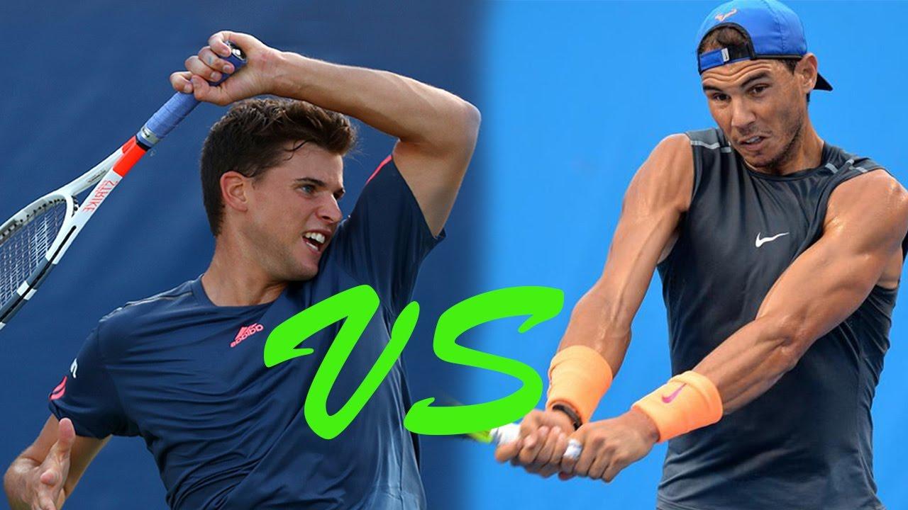 Resultado de imagen de Rafael Nadal vs Dominic Thiem