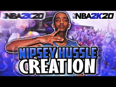 THE OFFICIAL NIPSEY HUSSLE  FACE CREATION! NBA 2K20 | CREATION 36