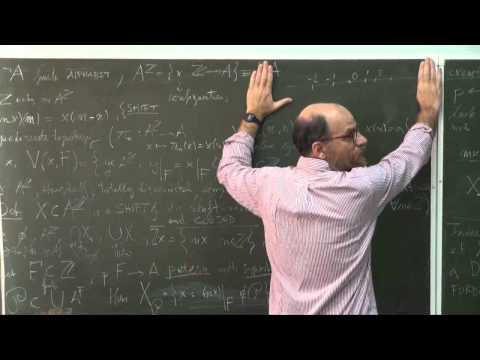 Lecture 1 | Symbolic Dynamics and One-dimesional Cellular Automata: an Introduction | Лекториум