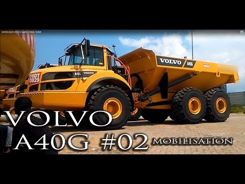 MOBILISASI VOLVO A40G #02
