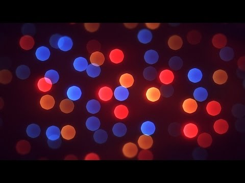 blinking christmas lights bokeh christmas new year background