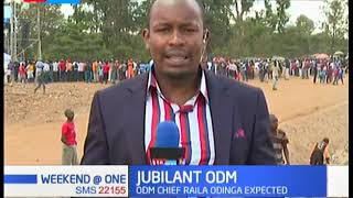 ODM party holds thanksgiving rally in DC Grounds Kibra, ODM chief Raila Odinga expected