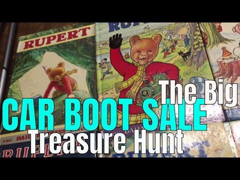 The Big Car Boot Treasure Hunt