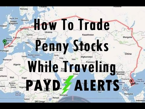Traveling Around The World And Trading Stocks