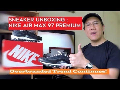 nike air max 97 overbranded black