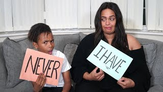 NEVER HAVE I EVER WITH MUM!! **AWKWARD**