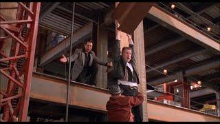 На высотной стройке — «Младенец на прогулке, или Ползком от гангстеров» (1994) сцена 8/10 HD
