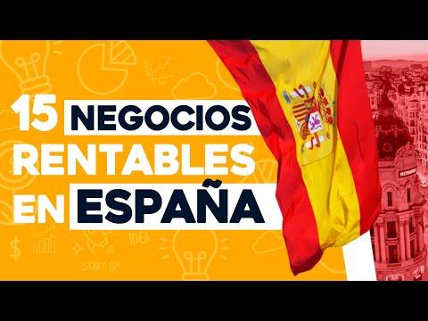 ✅ 15 Ideas de Negocios Rentables en España con Poco Dinero 🤑