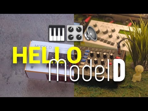 Hello Model D: Unboxing the Behringer Model D