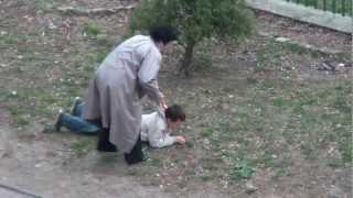 Atak histerii dziecka - Będzin Syberka.