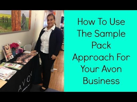 AVON Representative Lynette Shares How To Use The Sample Pack Approach For Your Avon Business