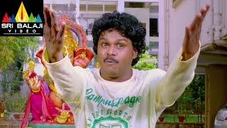Lovers Movie Sapthagiri as Magadheera Comedy | Sumanth Ashwin, Nanditha | Sri Balaji Video