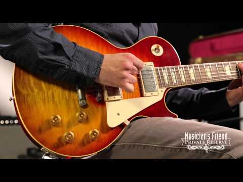 Gibson Custom Southern Rock Tribute VOS 1959 Les Paul Electric Guitar Reverseburst