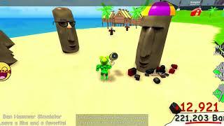Roblox | Chơi game Ban Hammer Simulator và review về game | Rim