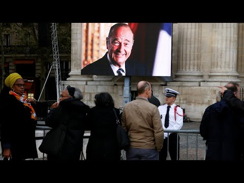 En direct depuis Paris : Ultime adieu à Jacques Chirac