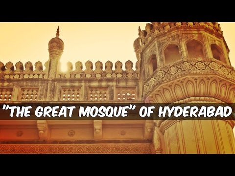 The GREAT Mosque of Hyderabad l With Abu Aimal l The Baigan Vines