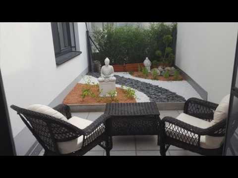 Gartenkonzepte Kiesgarten