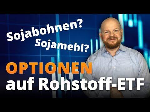 Optionen auf Rohstoff ETFs |Optionsstrategien