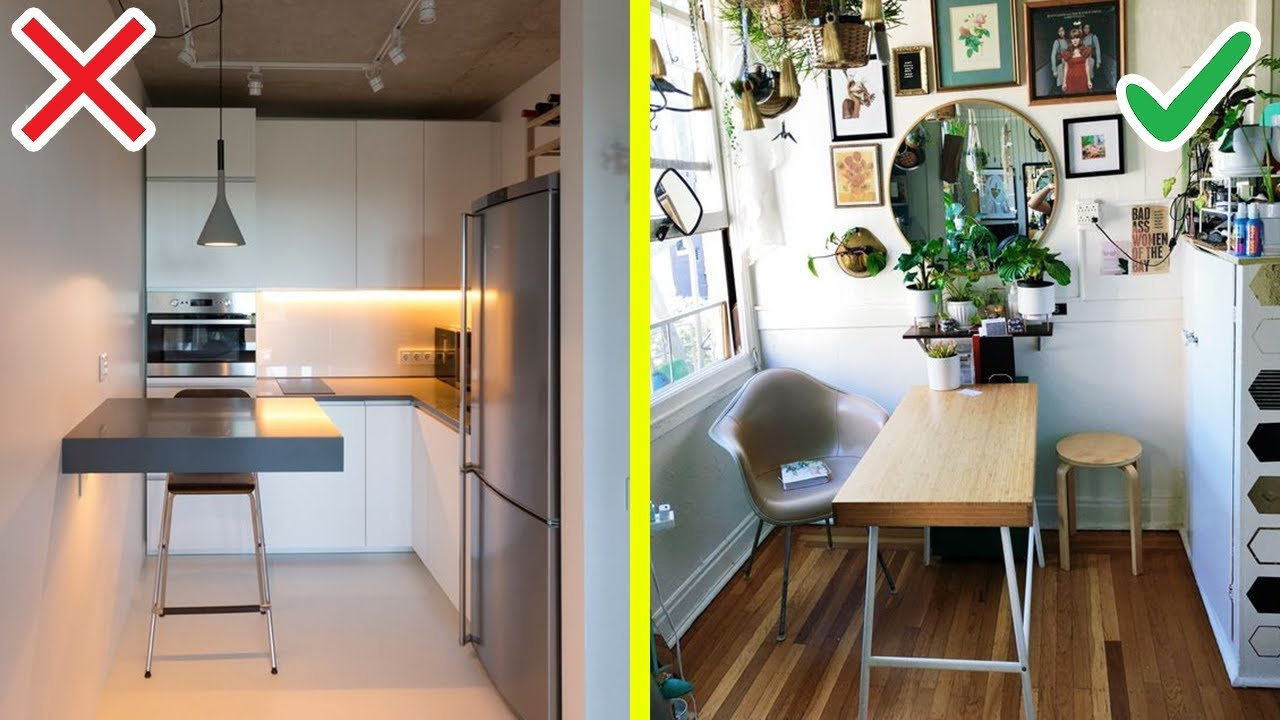17 Smart Studio Apartment Makeover With Tight Budget Youtube