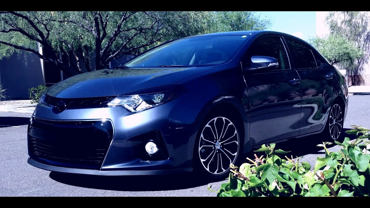 2017 Toyota Corolla S Custom Lowered Eibach 2016 Special Edition