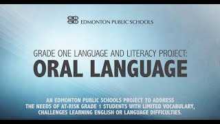 EPSB Grade One Language and Literacy Project:...