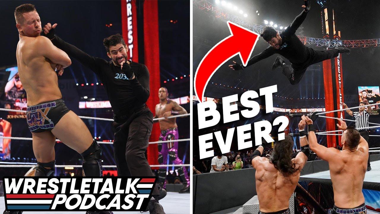 See Bad Bunny's Impressive WWE WrestleMania Debut