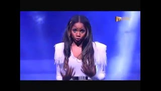 Moneoa Pretty Disaster live on Clash Of The Choirs 1 2013