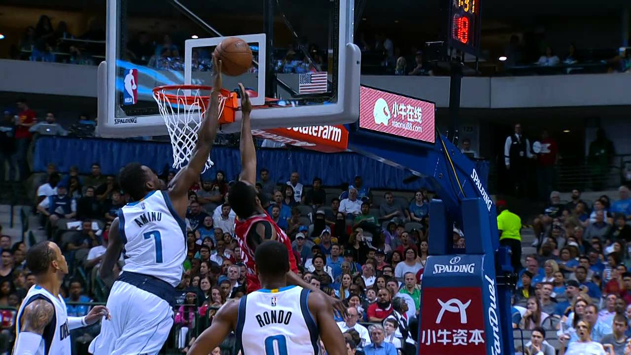Al-Farouq Aminu Flies in to Deny James Harden