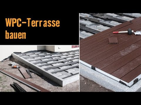 meisterschmiede wpc terrasse bauen youtube. Black Bedroom Furniture Sets. Home Design Ideas