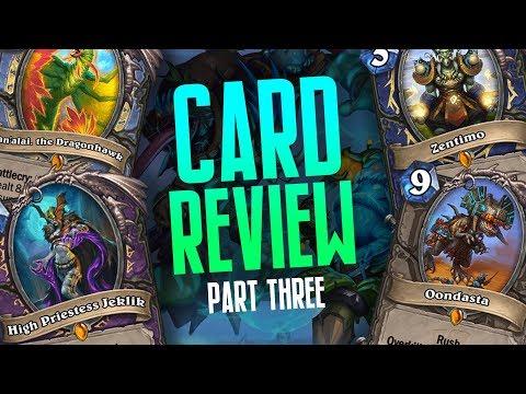 OP Legendaries And Tons Of New Cards! | Rastakhan's Rumble Review Part Three | Hearthstone
