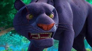 Маугли - Книга Джунглей - Не та пантера –развивающий мультфильм для детей