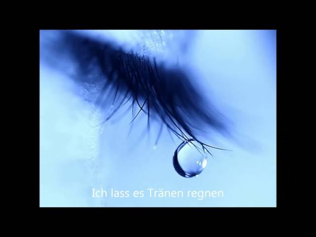 ich trinke tränen schwarzen wein