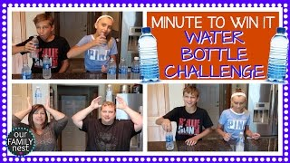 WATER BOTTLE CHALLENGE - MINUTE TO WIN IT EDITION