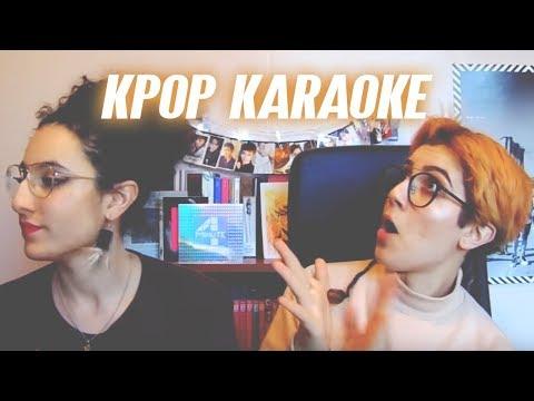 KPOP KARAOKE GAME ! (ft ma sœur) + info