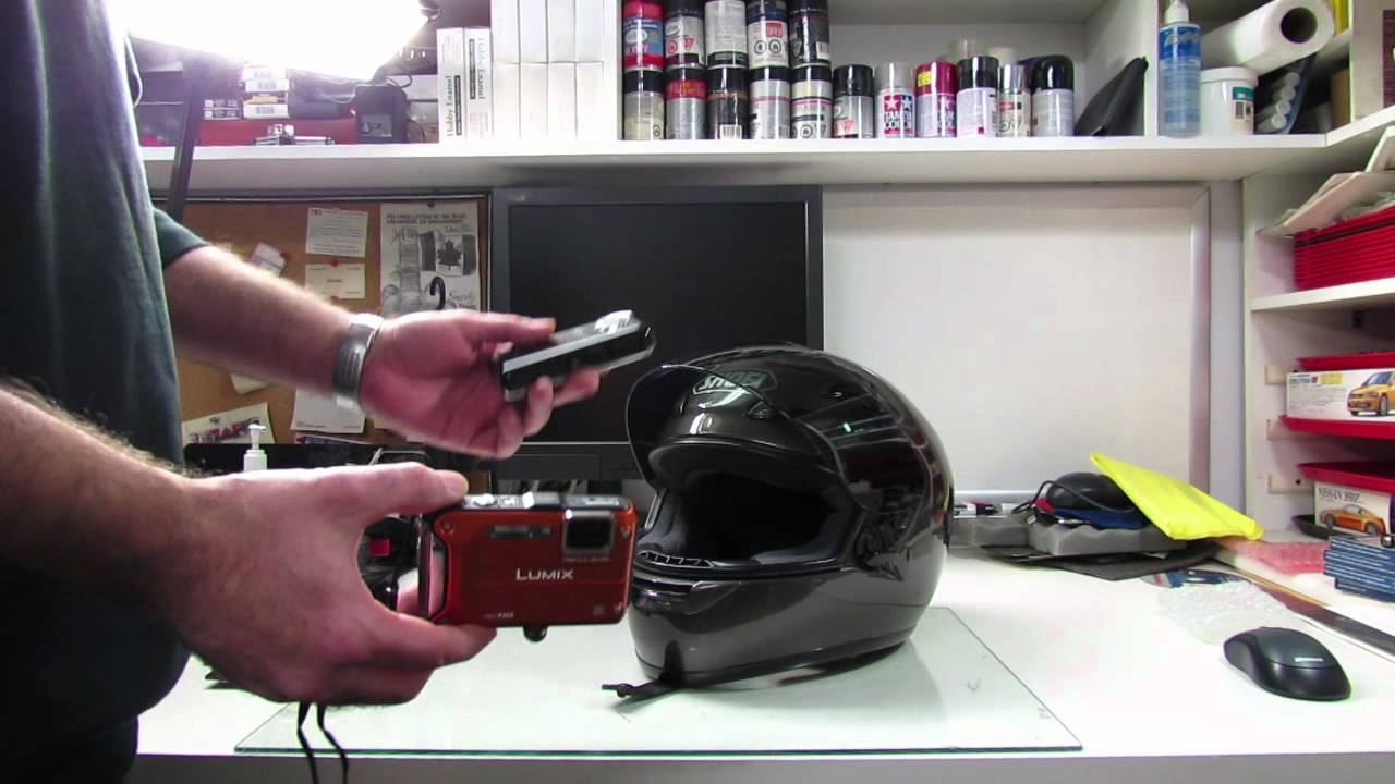 Helmet Cam - How to attach your camera to your helmet - YouTube