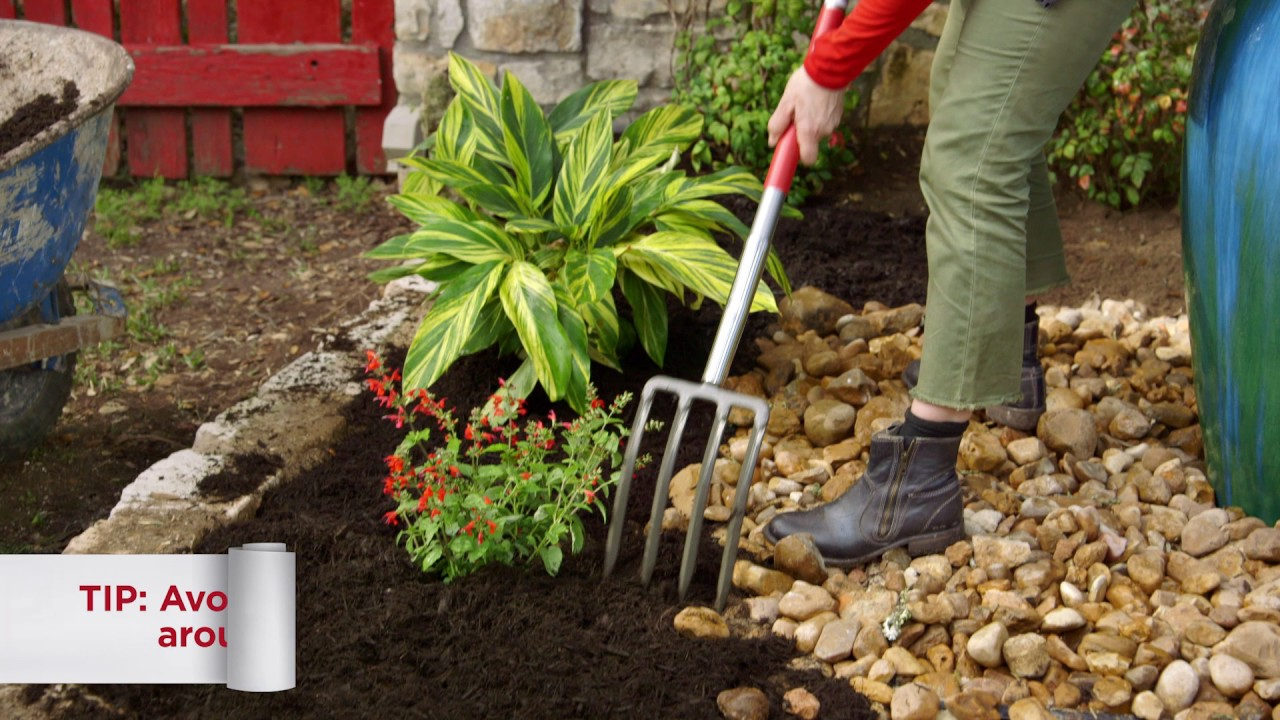 10 How To Mulch A Flower Bed