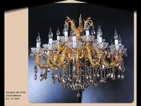 Купить недорого подвесные хрустальные люстры в стиле свеча a3303lm-8 1go италия высотой 1110 и диаметром 740 из хрусталь цвета золото по низкой цене в интернет-магазине лампов заказав в москве и по всей россии. Фотографии люстр.