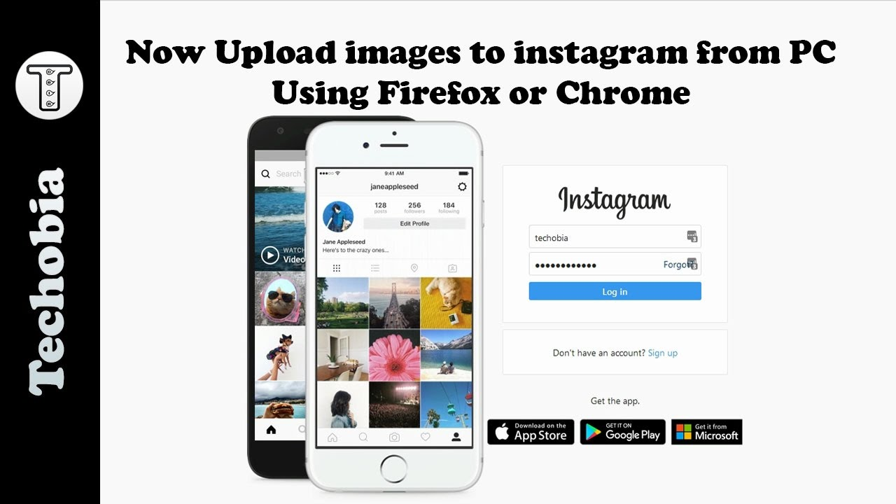 Now you can upload images on Instagram from PC using ...