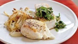 Halibut With Caper Salsa Verde Recipe
