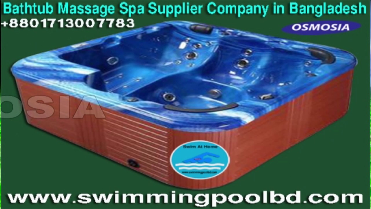 jacuzzi spa pool product supplier company in bangladesh - YouTube