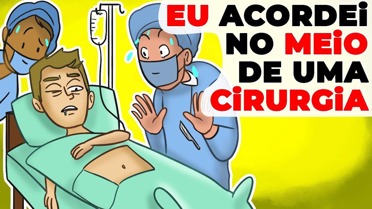 Eu Acordei no Meio de uma Cirurgia | História Animada de Médicos se Apavorando