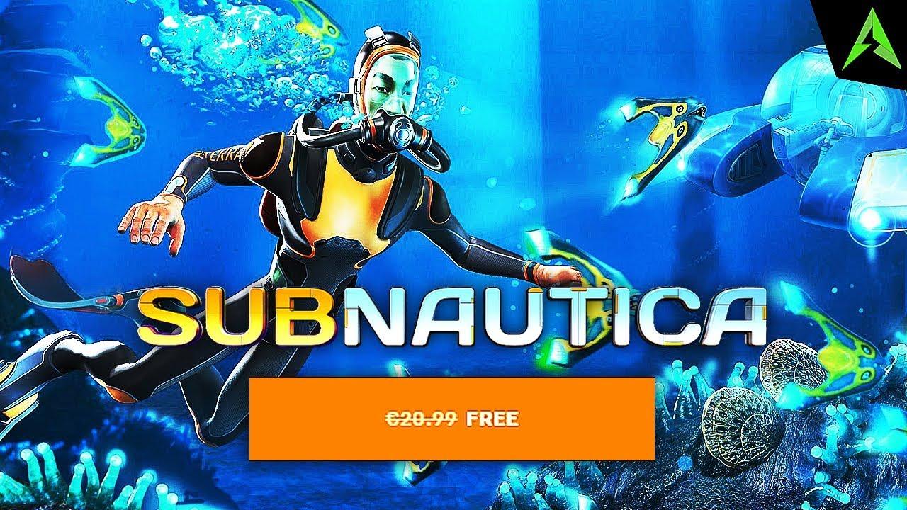 Subnautica Este *FREE* Pe Epic Games.. - YouTube