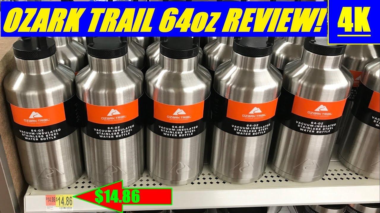 Ozark Trail 64 Oz Bottle Jug Review Budget Yeti Rambler 4k Youtube