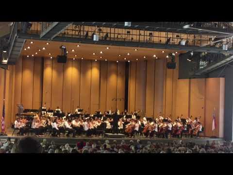 20170704 Brevard Music Center: 1812 Overture